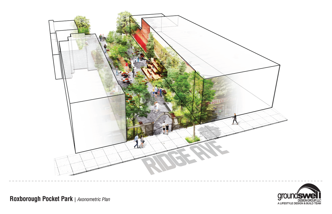 Photo: Roxborough Pocket Park Conceptual