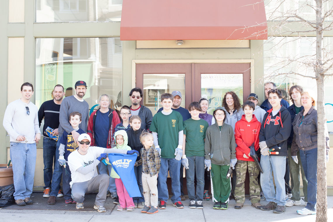 Photo: Roxborough Spring Clean-Up