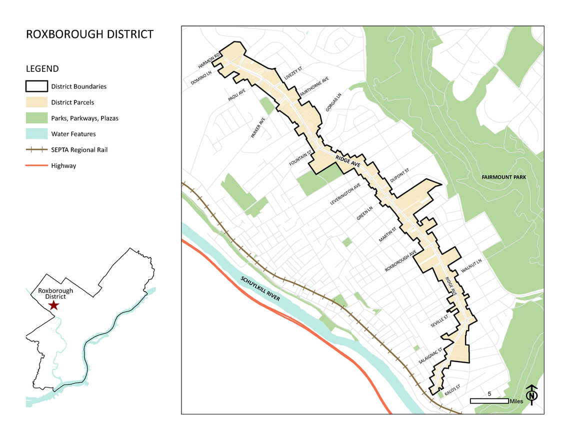 Photo: Roxborough District Map