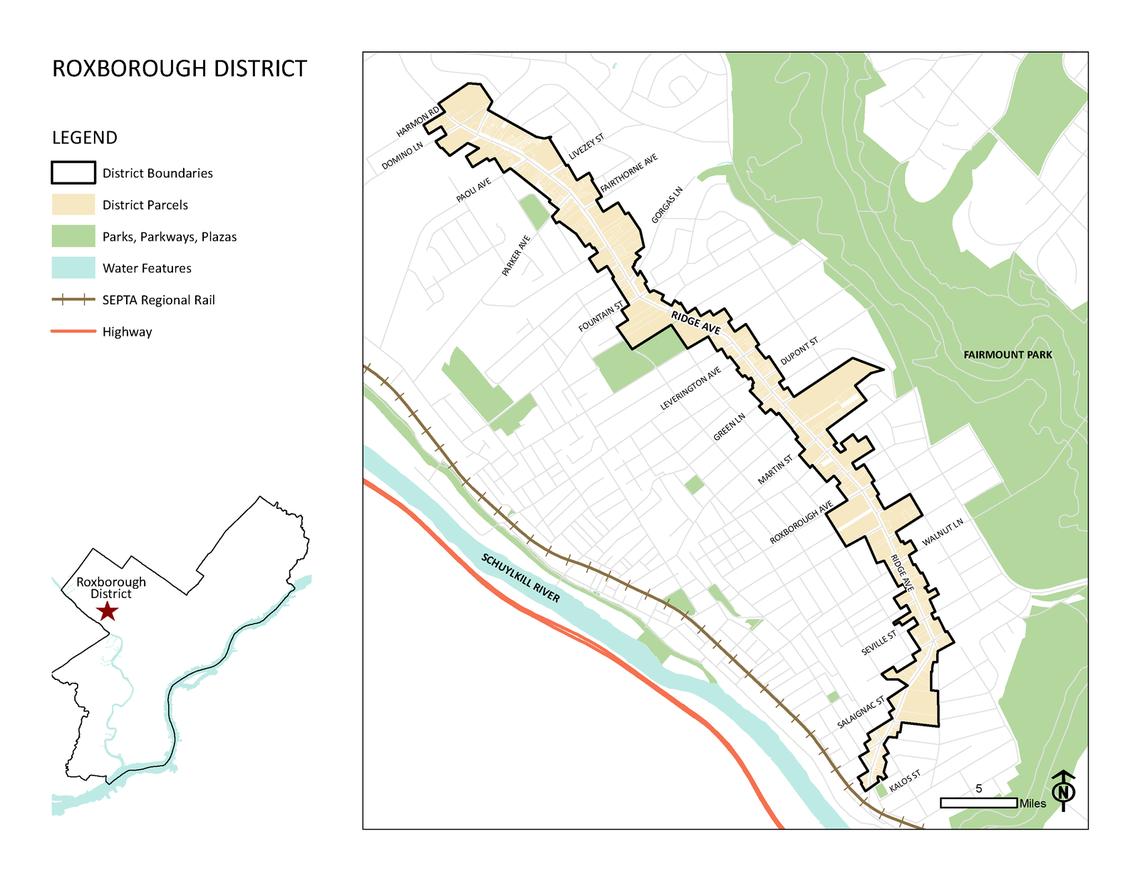 Photo: Roxborough District Map