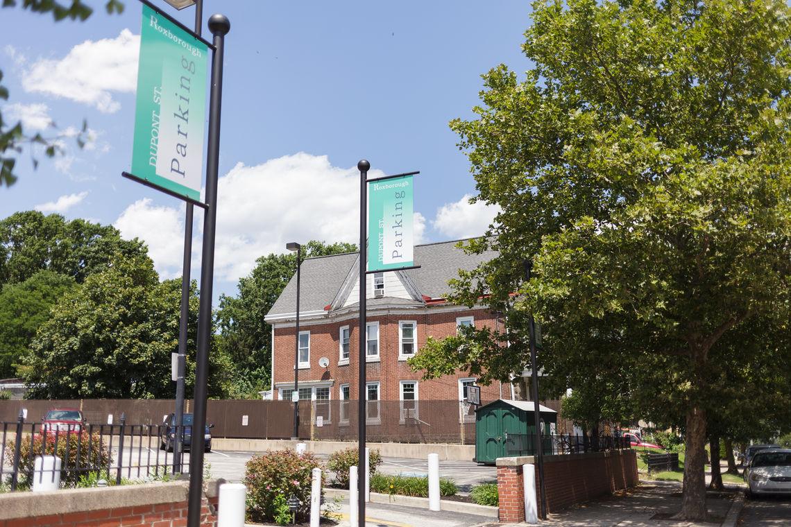 Photo: Dupont Street Parking Lot