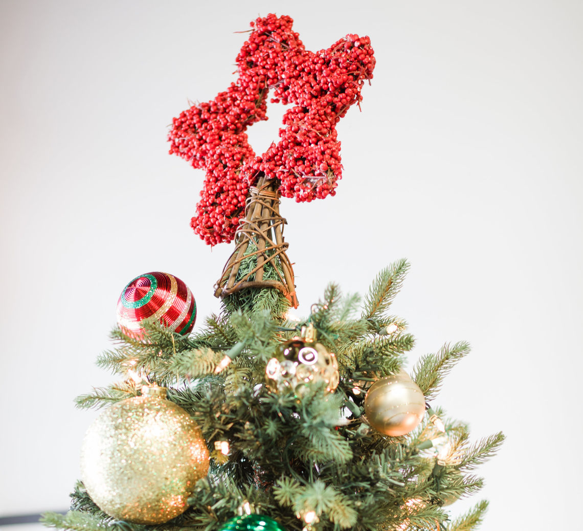 Photo: Christmas Tree Topper