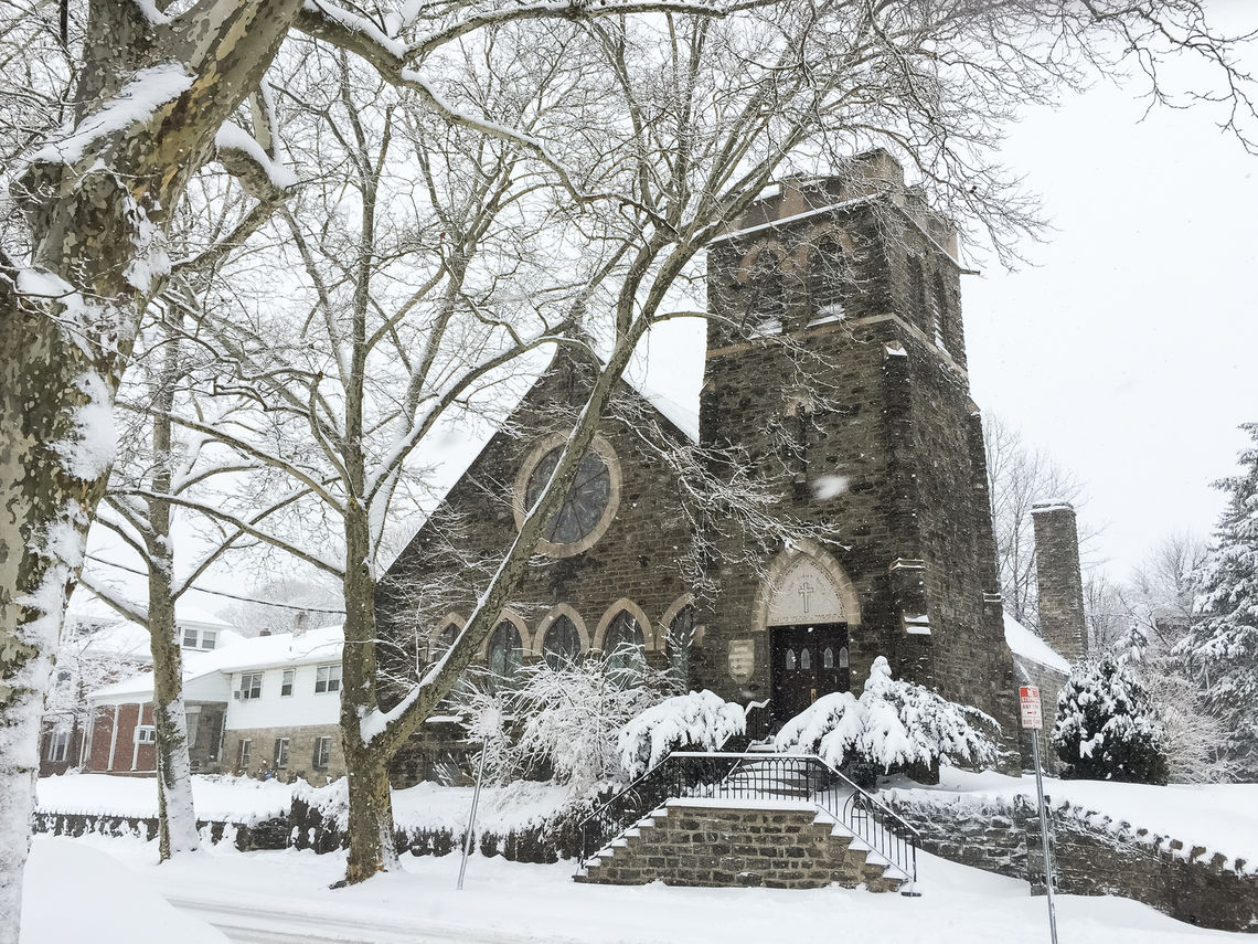 Photo: Grace Lutheran Church Snowfall