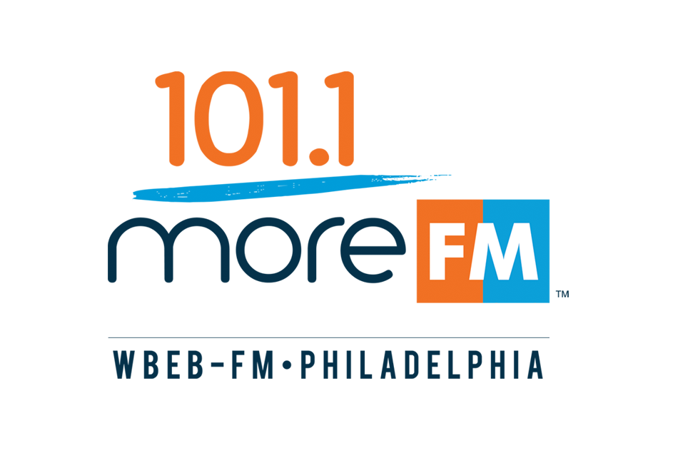 Photo: More FM 101.1 Logo WBEB