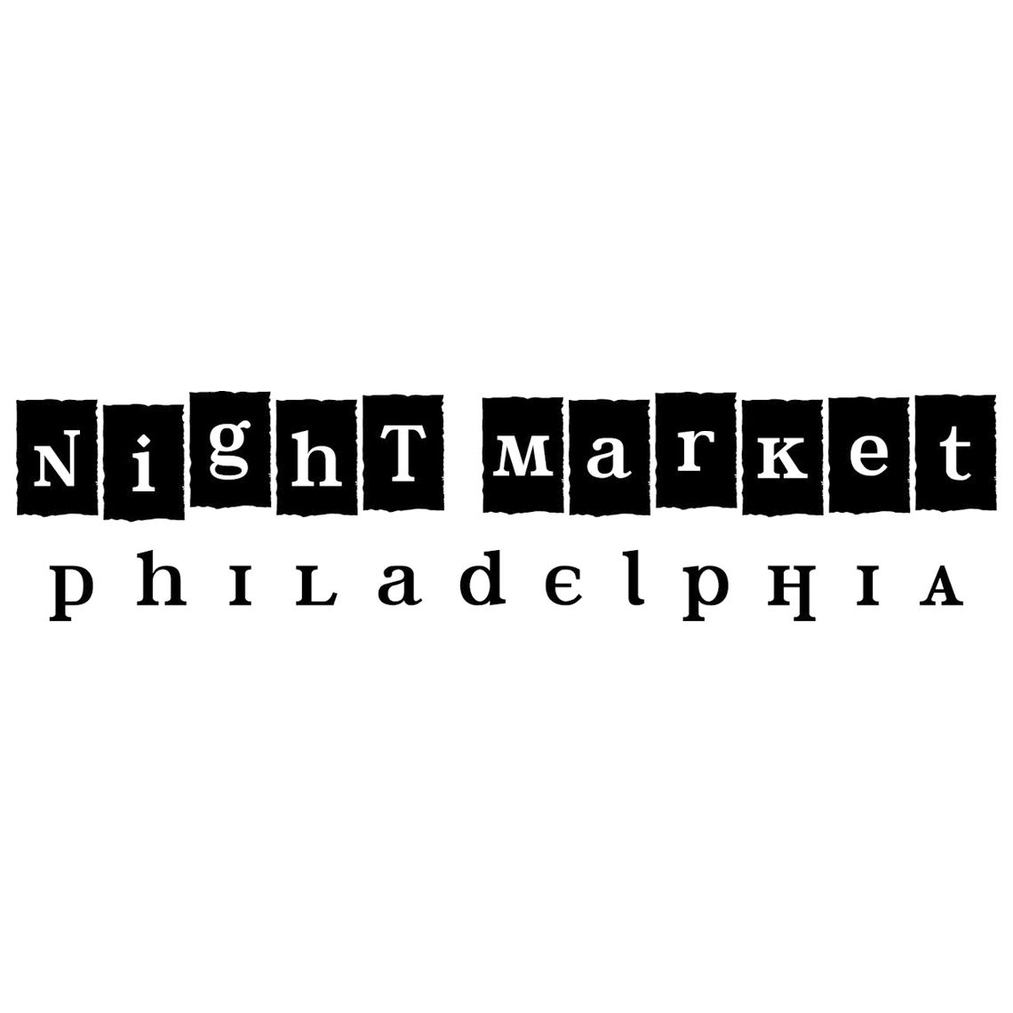 Photo: nightmarketlogobw3
