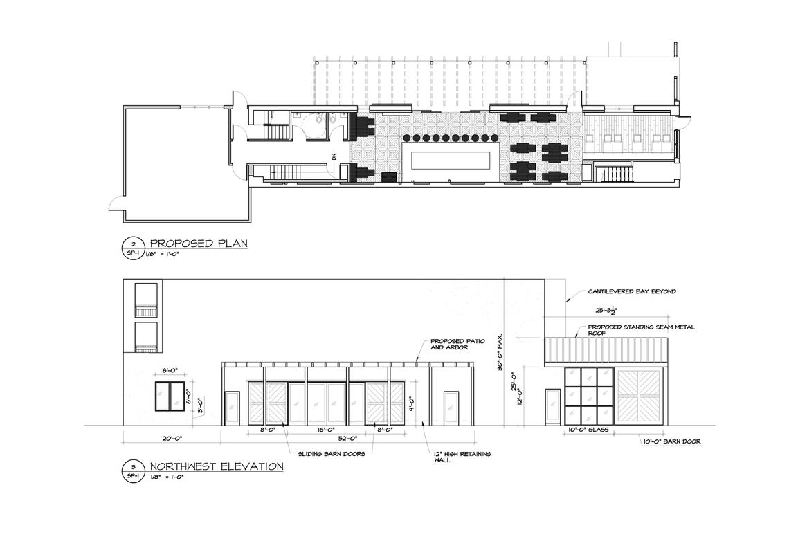 Photo: 6168 Ridge Avenue Zoning Plan