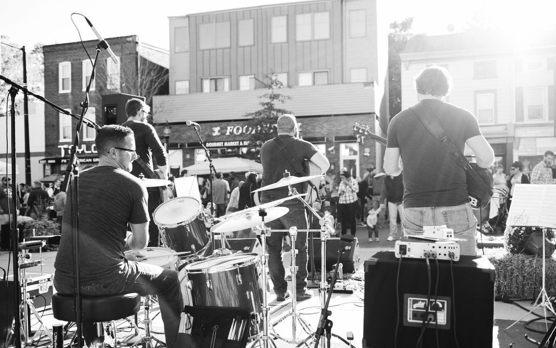 Photo: Roxtoberfest Performance Stage
