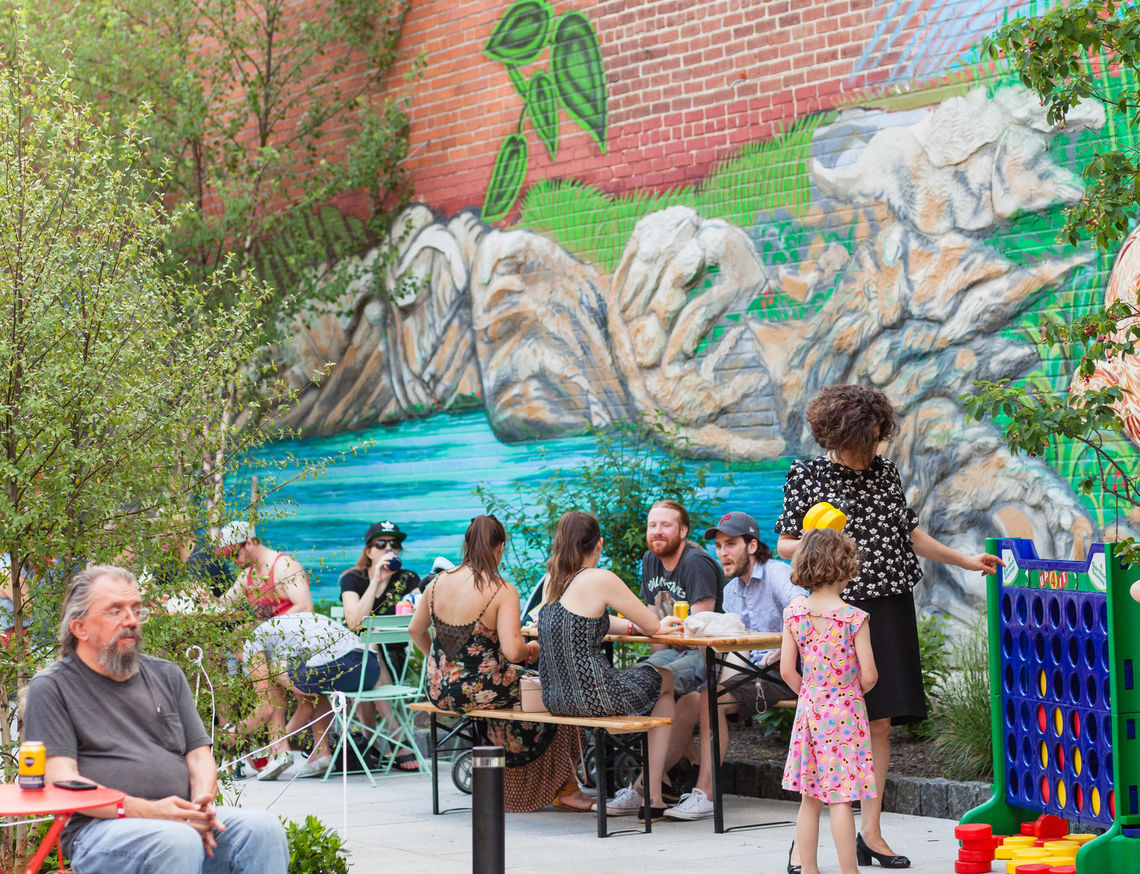Photo: Roxborough Pocket Park First Friday June
