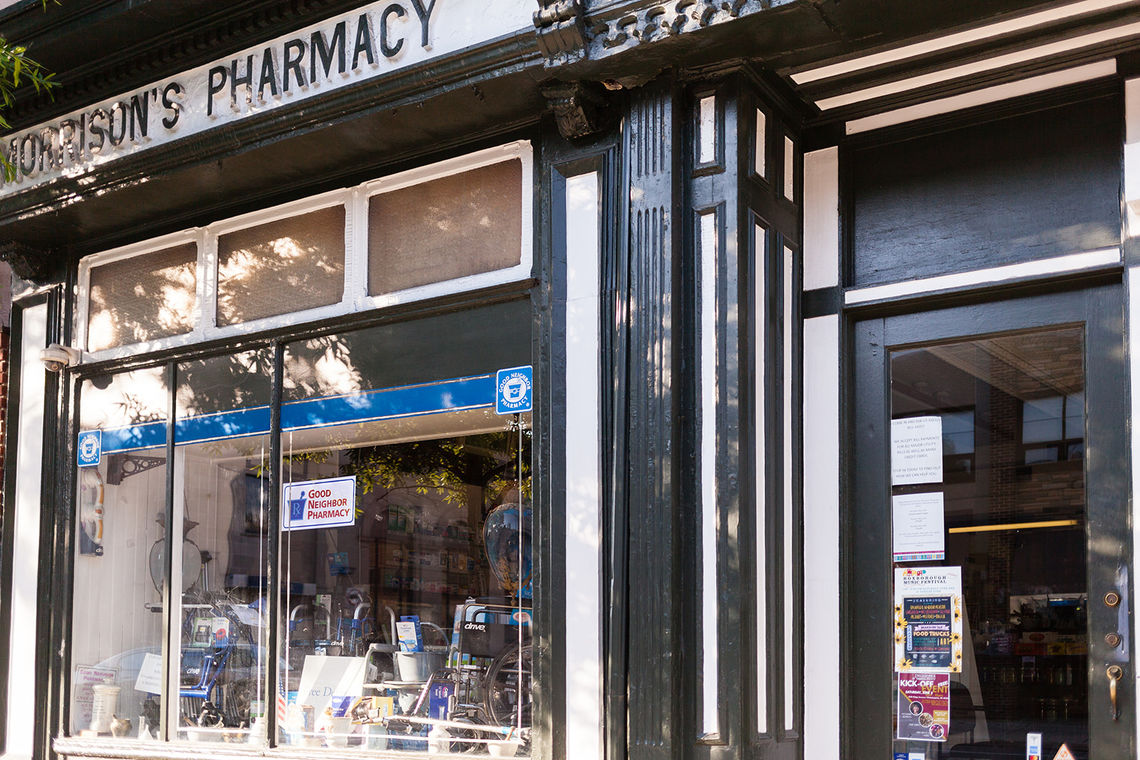 Photo: Morrison's Pharmacy established by James Morrison in 1859 is one of 188 properties nominated by the Philadelphia Historical Commission