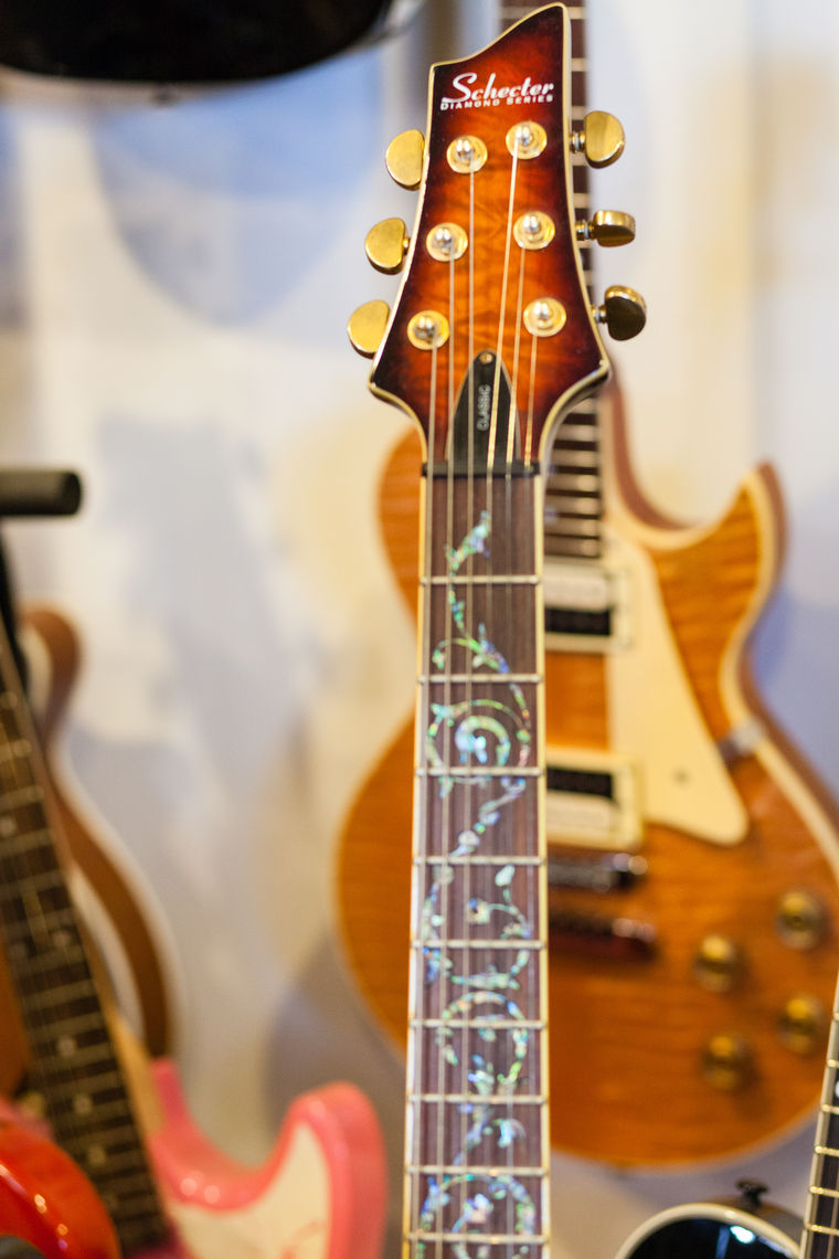 Photo: This Schecter Diamond Series is one of many electric guitars for sale at Roxy Guitar