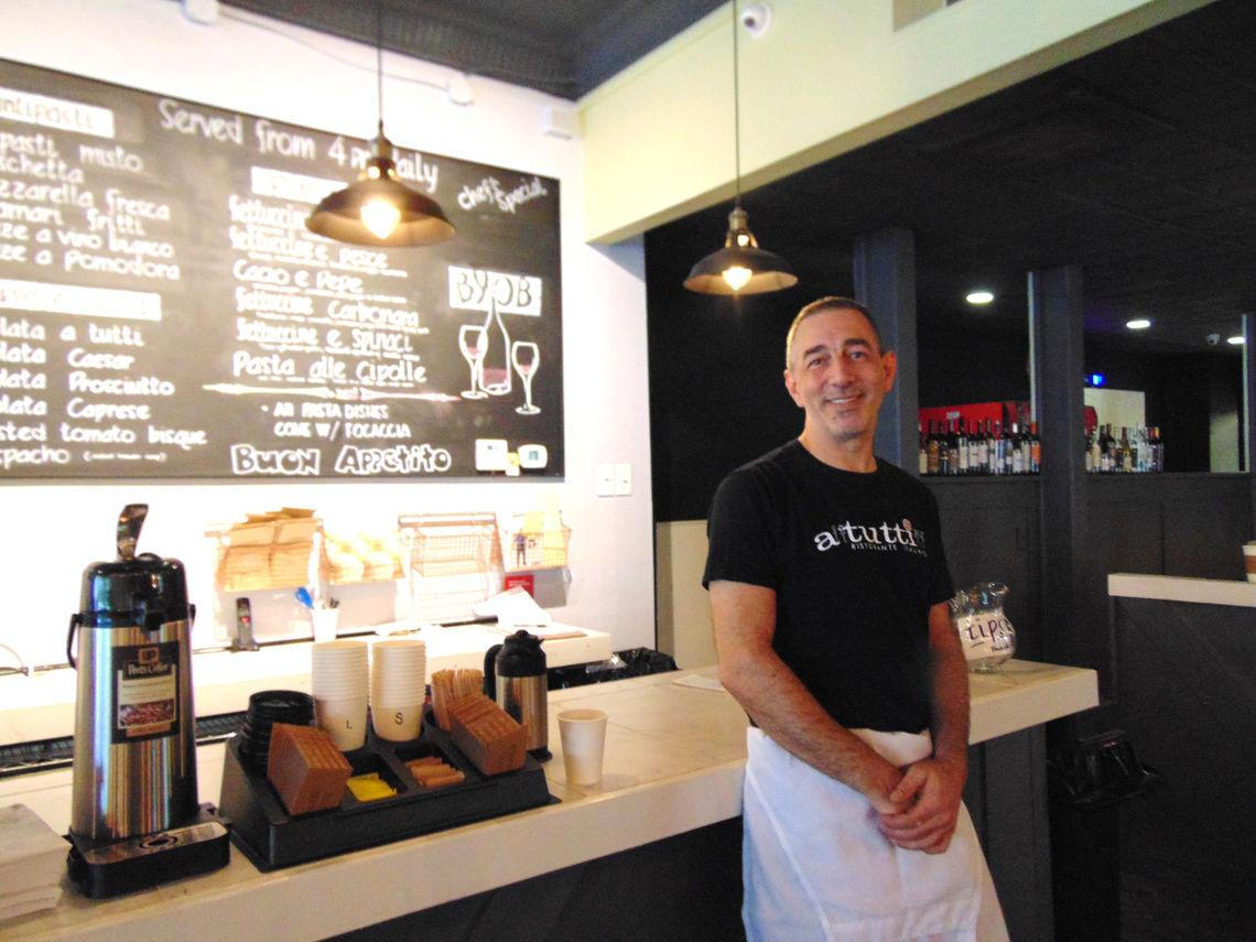 Photo: Paul Marrone owner and opeartor of A Tutti Ristorante Italiano 5154 Ridge Avenue