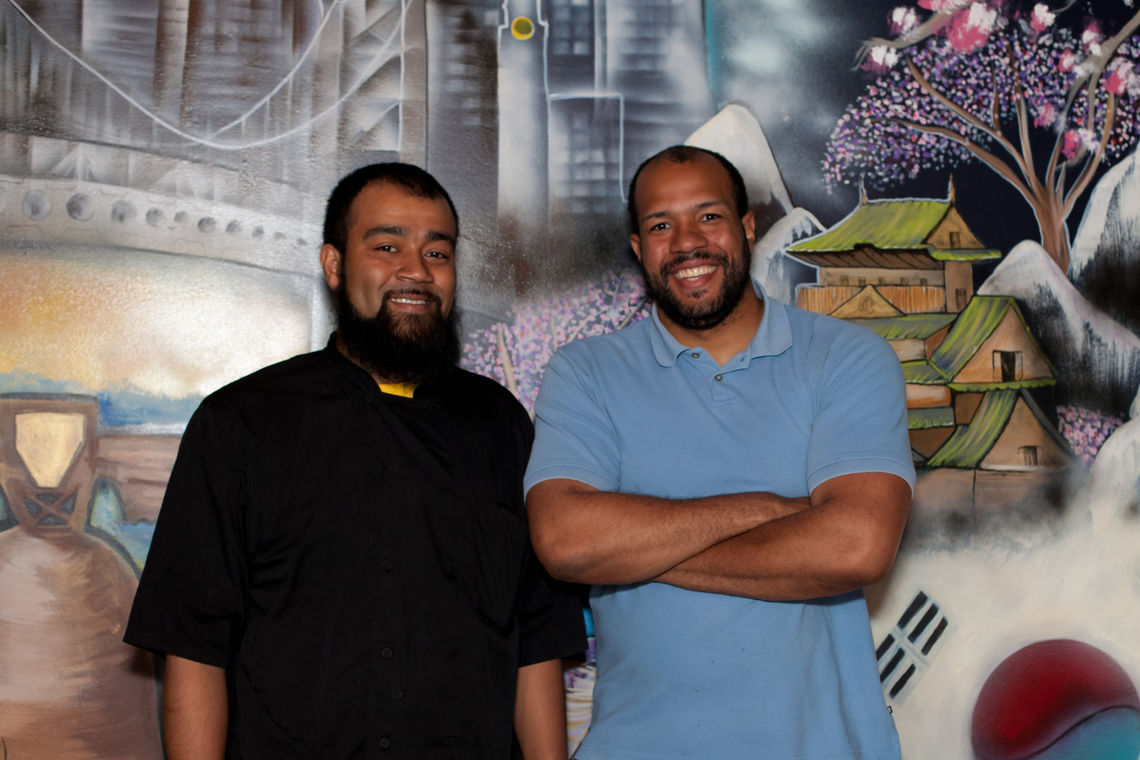 Photo: Jason and Jimmy Mills of The Spicy Belly 3847 Terrace Street