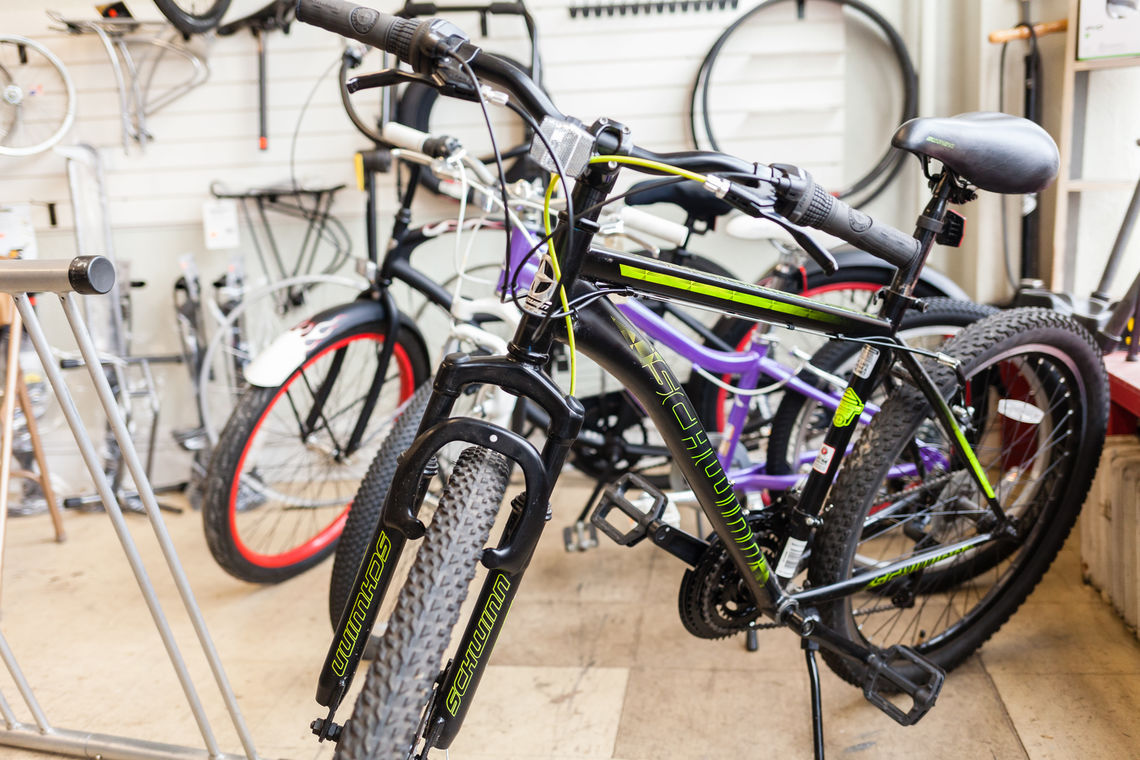 Photo: Schwinn mountain bike available at the shop