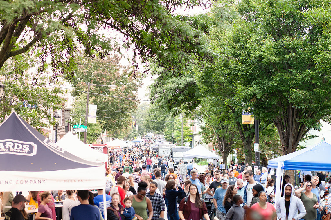 Photo: The 6th annual Roxtoberfest street festival returned to Ridge Avenue