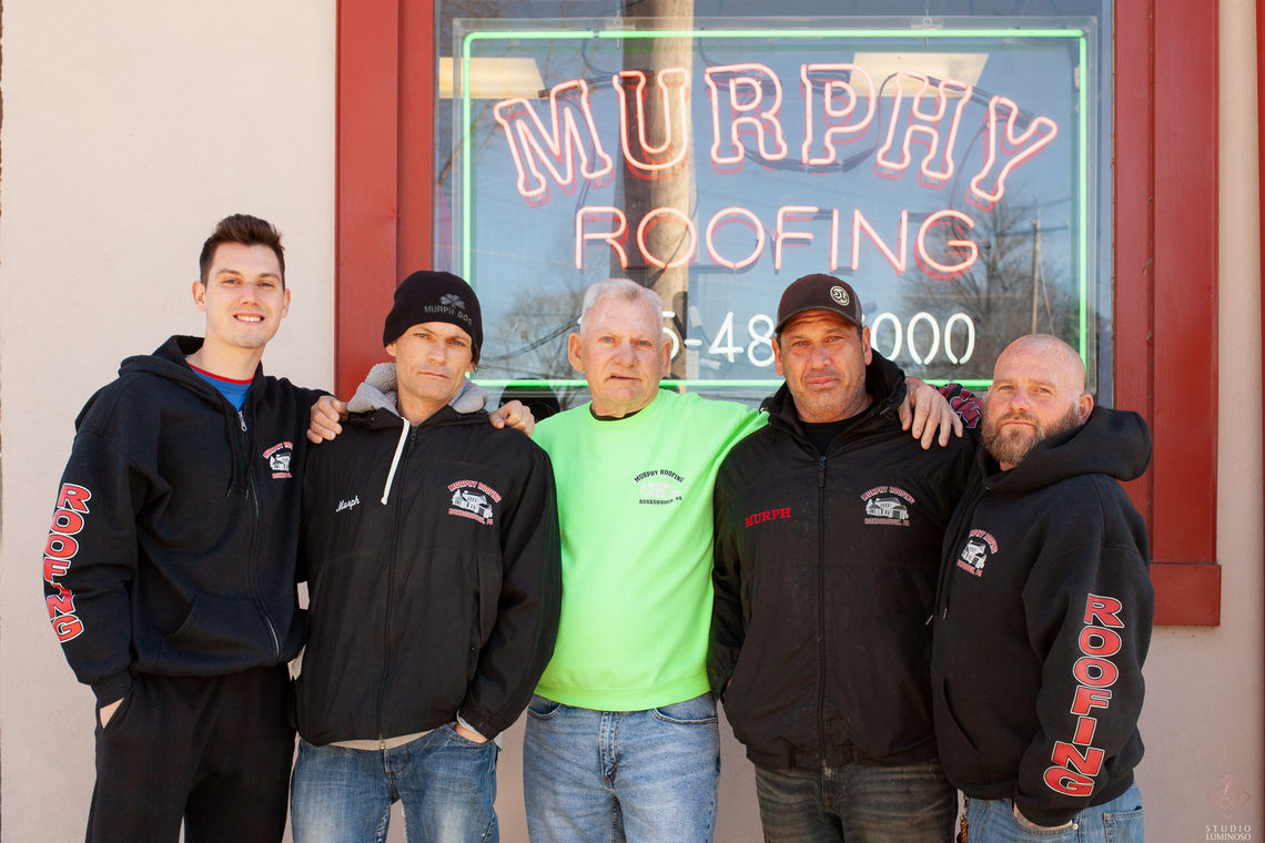 Photo: Murphy Roofing Family