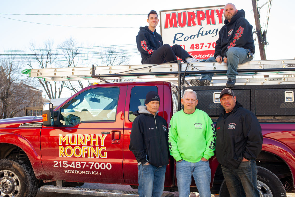Photo: Murphy Roofing Truck