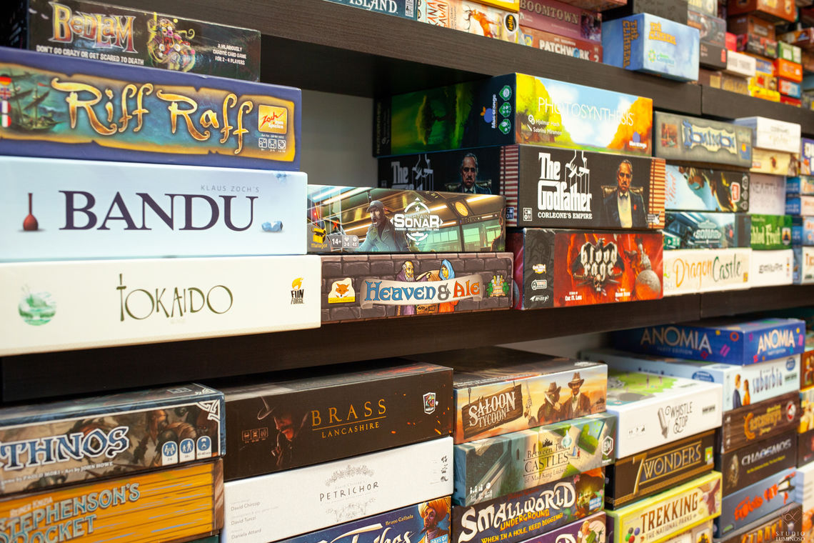 Photo: The Basement Board Game Cafe promises to feature over 500 games