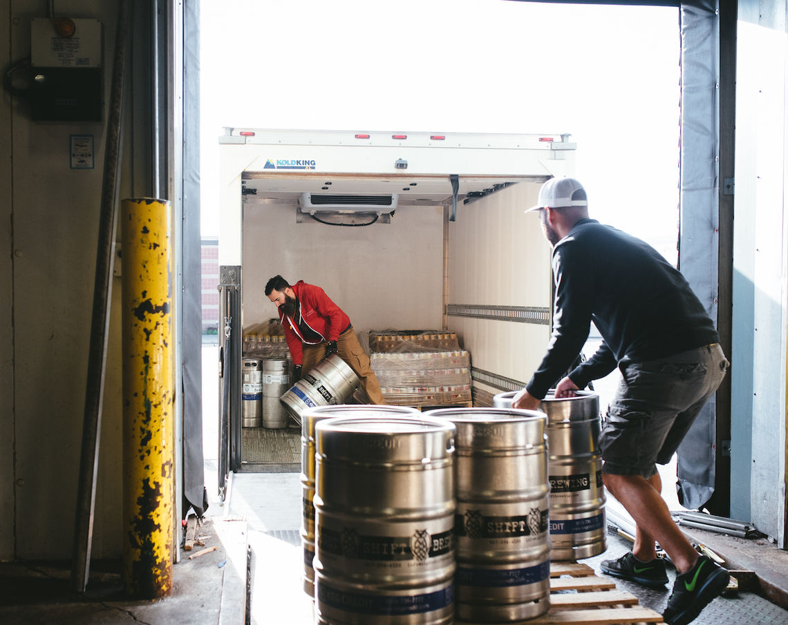 Photo: Night Shift Brewing distribution in the Greater Boston area Photo Credit- Tim Oxton Night Shift Brewing