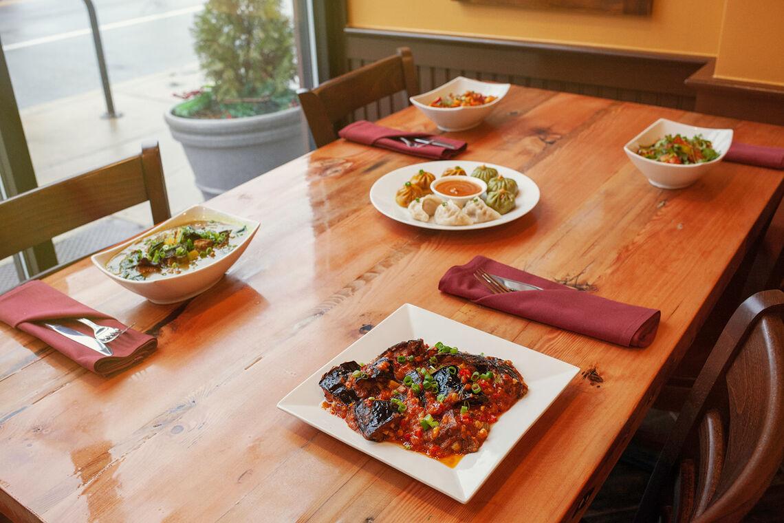 Photo: Four of White Yak's signature dishes.
