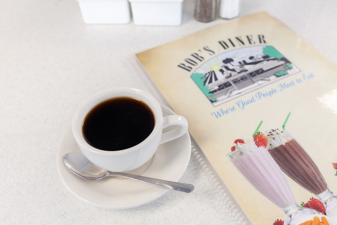 Photo: Bob's Diner coffee